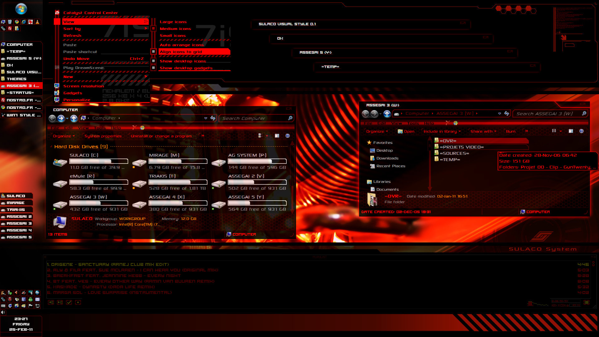 Sulaco SVS-theme-desktop (preview)